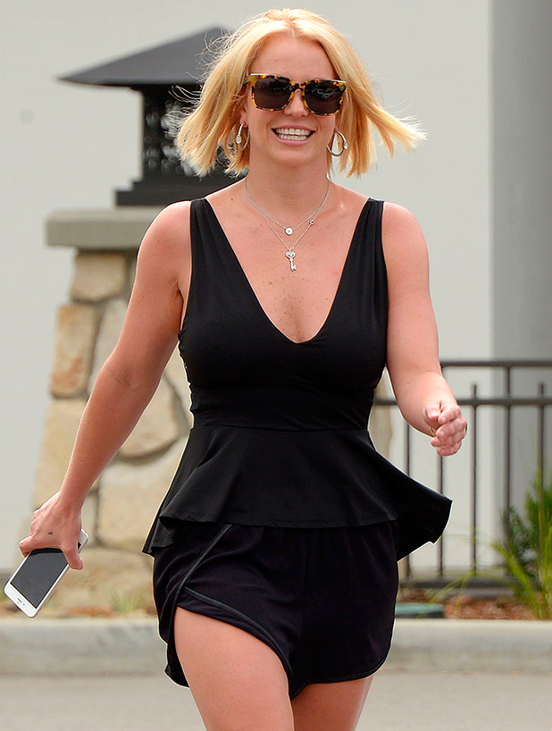Britney Spears out and about, Los Angeles, America - 10 Jun 2015