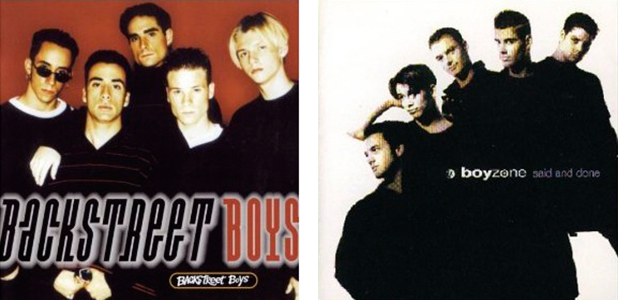 BSB and Boyzone albums