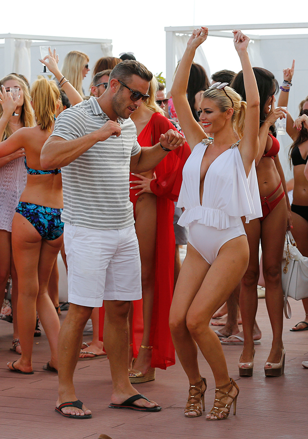 The Only Way Is Essex' in Marbella, Spain - 08 Jun 2015 Chloe Sims and Elliot Wright