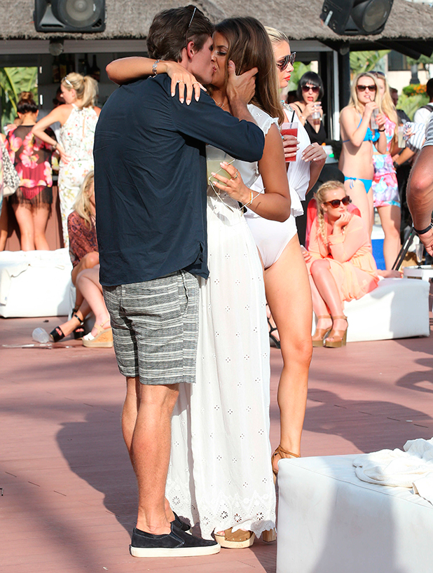 'The Only Way Is Essex' in Marbella, Spain - 08 Jun 2015 Jake Hall and Chloe Lewis