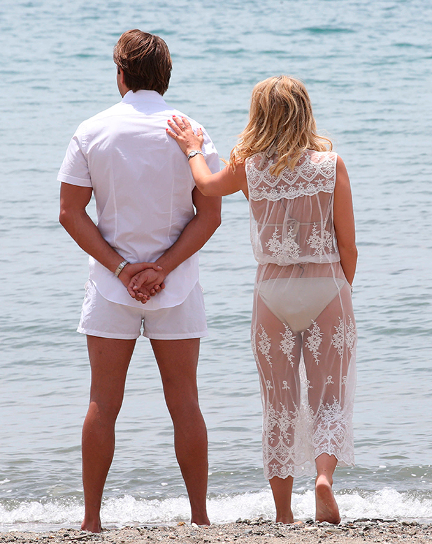 The Only Way Is Essex' in Marbella, Spain - 08 Jun 2015 Danielle Armstrong and James Lock