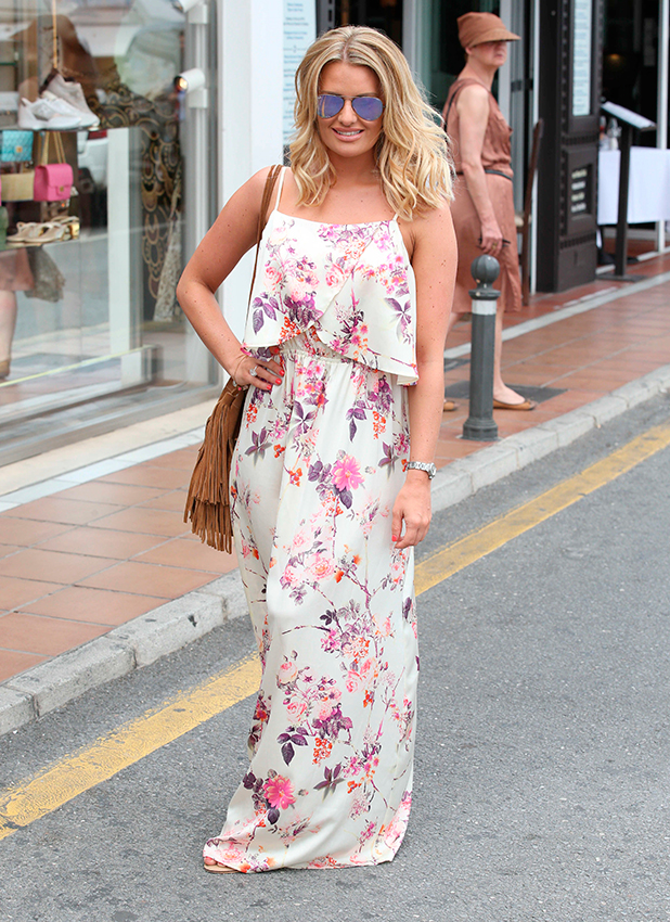 'The Only Way Is Essex' in Marbella, Spain - 07 Jun 2015 Danielle Armstrong