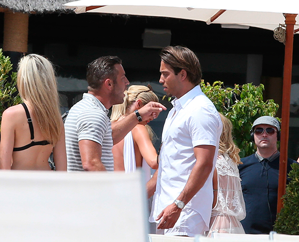 The Only Way Is Essex' in Marbella, Spain - 08 Jun 2015 Chloe Sims, Elliot Wright and James Lock