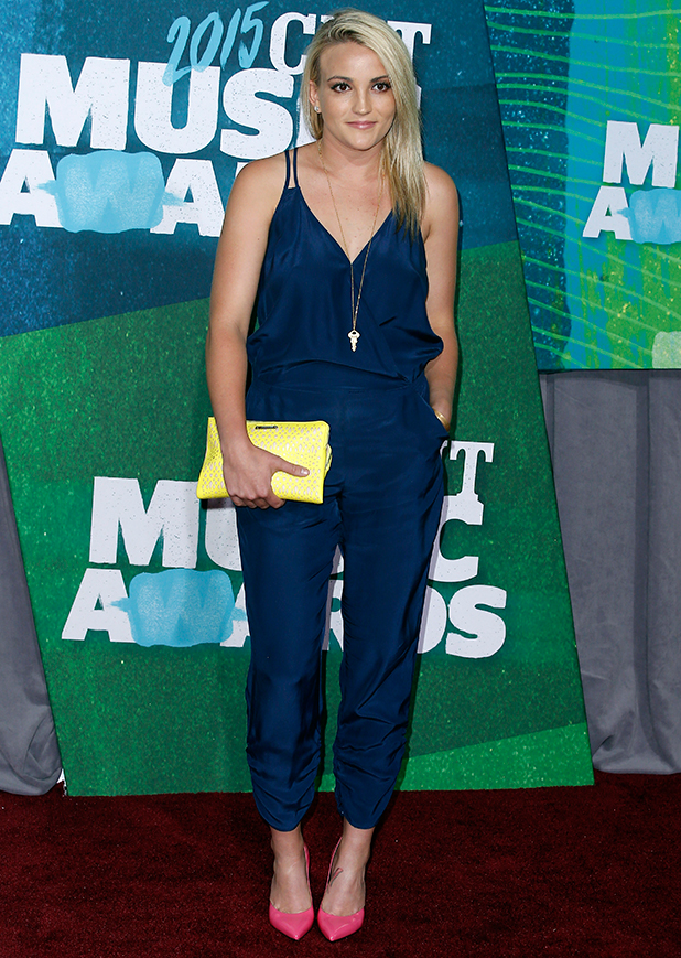 Jamie Lynn Spears, 2015 CMT Music Awards at the Bridgestone Arena