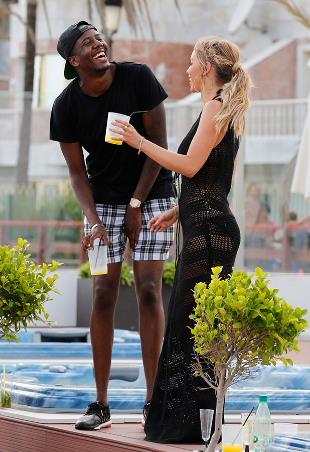 'The Only Way Is Essex' in Marbella, Spain - 08 Jun 2015 Vas J Morgan and Lauren Pope