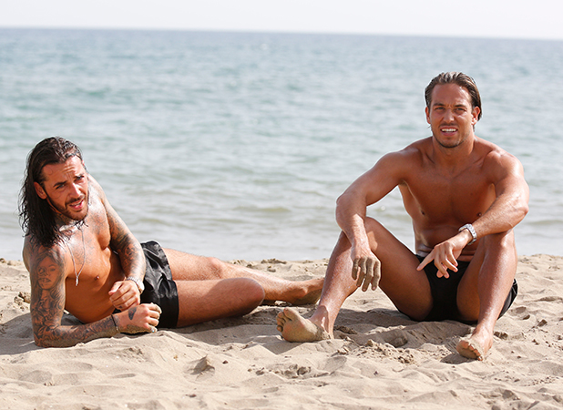 'The Only Way Is Essex' in Marbella, Spain - 05 Jun 2015 Peter Wicks and James Lock