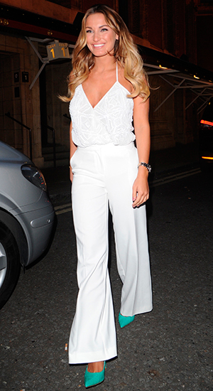 Sam Faiers, Ray of Sunshine concert at the Royal Albert Hall, June 2015
