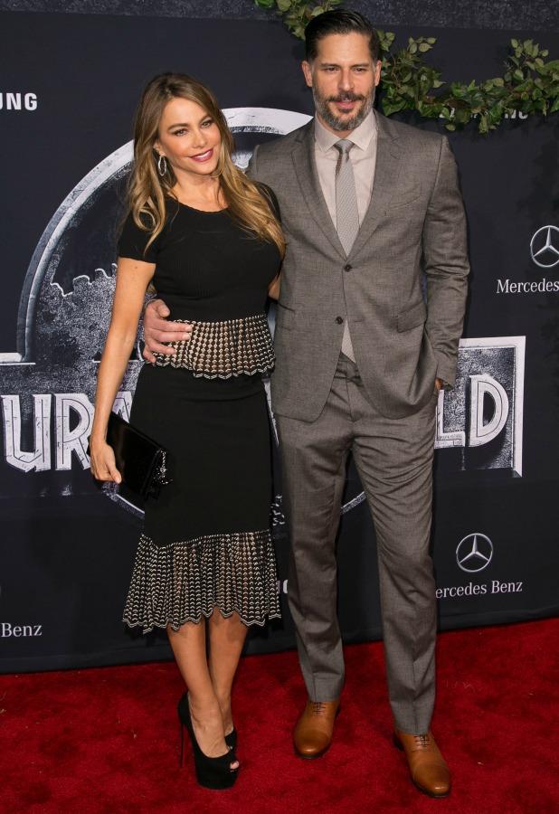 Joe Manganiello and Sofia Vergara, Premiere of Universal Pictures' 'Jurassic World' at Dolby Theatre 9 June 2015