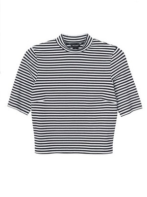 Monki striped top, June 2015