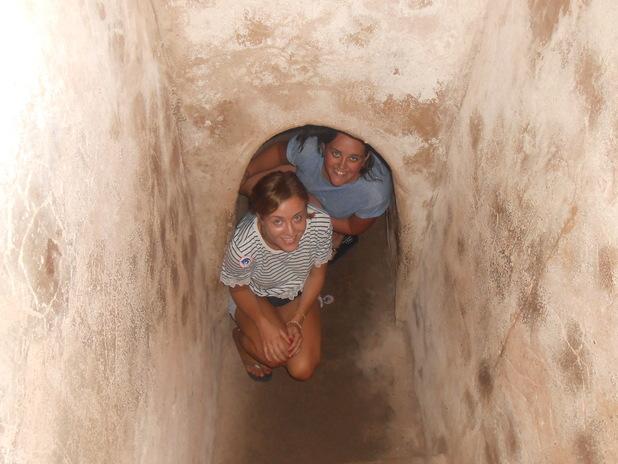 Cu Chi tunnels, Vietnam, 16/6/15