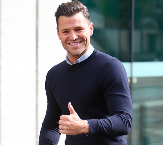 Mark Wright outside ITV studios, London 16 June 2015
