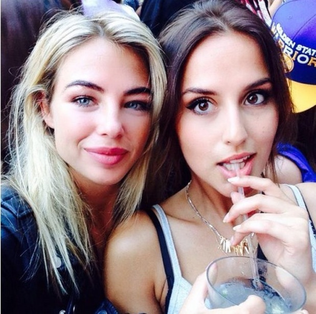 Lucy Watson and Jess Woodley, Instagram 14 June