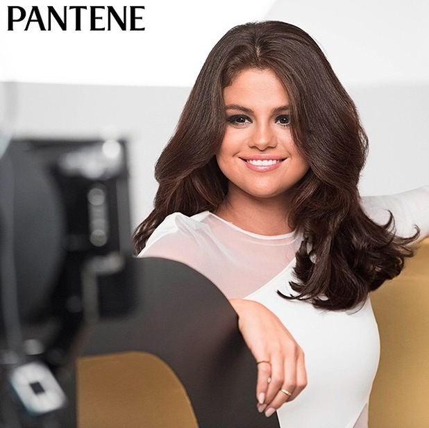 Selena Gomez in Pantene campaign imagery 16th June 2015
