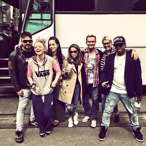 S Club 7 hit the road, June 2015