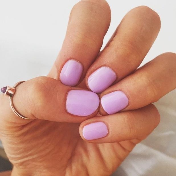 MIC's Binky Felstead uploads picture of her manicure to Instagram 17th June 2015