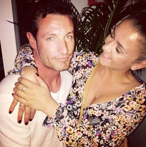 Brooke Vincent's blog - in Ibiza with Dean Gaffney - 19 June 2015.