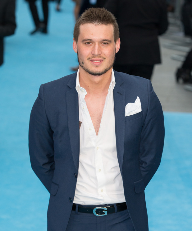 Charlie Sims at the European Premiere of