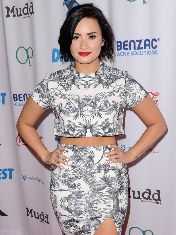 Demi Lovato at Digifest 2015 held at CitiField in Queens - 7 June 2015.