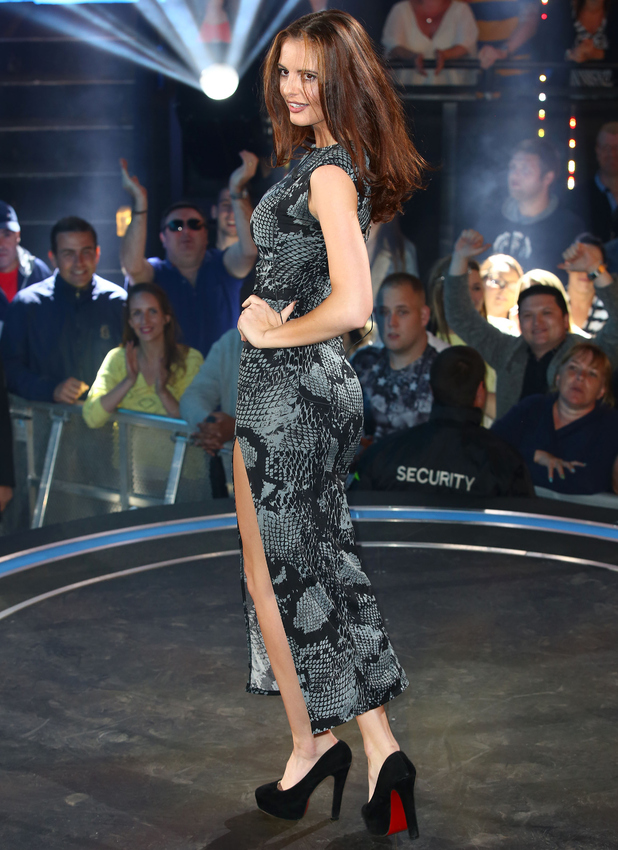 Jade Lynch is evicted from the Big Brother house at Elstree Studios, 19 June 2015