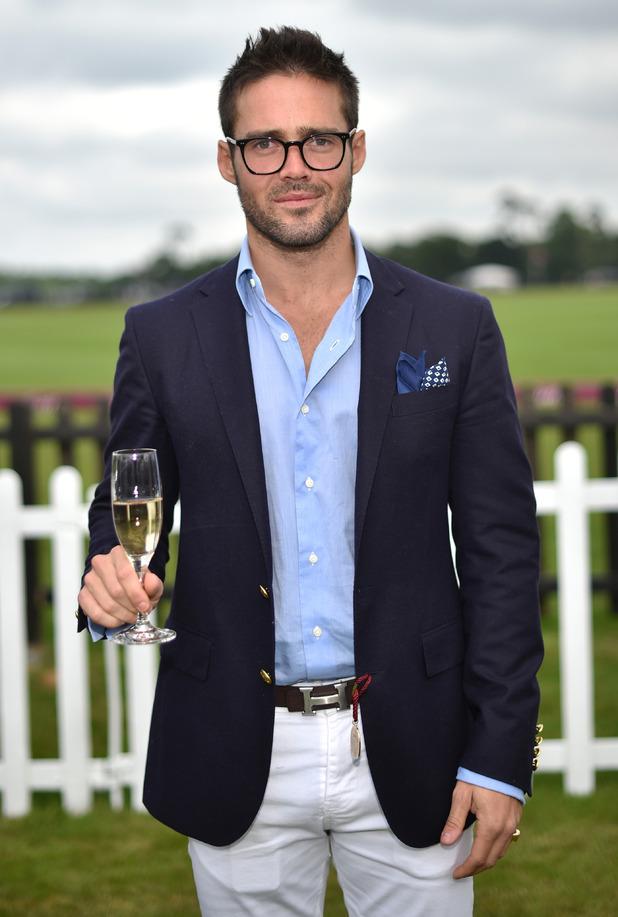 Spencer Matthews at the Cartier Queen's Cup 2015 Polo Finals - 14 June 2015.