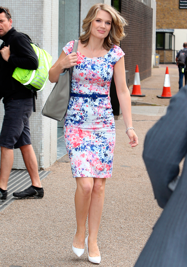 'Good Morning Britain' TV programme, London, Britain. - 15 Jun 2015 Charlotte Hawkins
