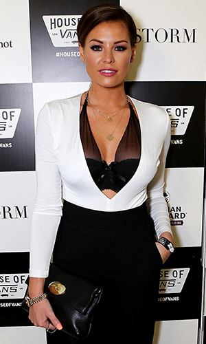Jessica Wright attends the Storm LCM SS16 Party at House of Vans, on June 12, 2015 in London, England.