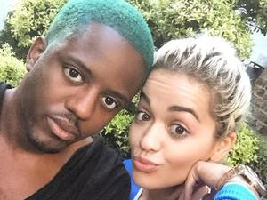 Vas J Morgan takes a selfie with his BFF Rita Ora - 24 June 2015.