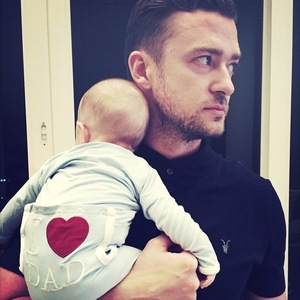 Justin Timberlake shares photo with son Silas on Fathers Day 21 June