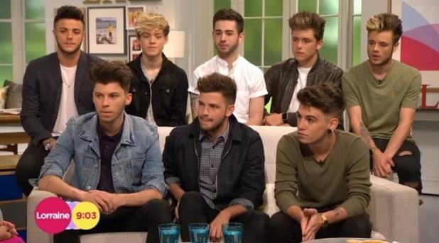Stereo Kicks appear on ITV's Lorraine 22 June