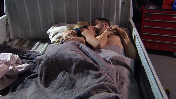 Emmerdale, Debbie sleeps with Ross, Mon 29 Jun