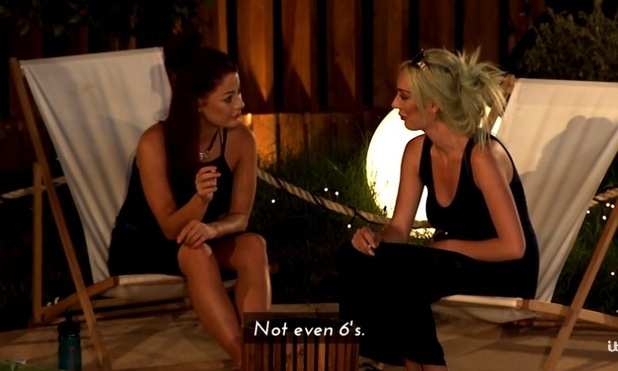 Jess and Daisy overhear Luis talking about them, Love Island 23 June