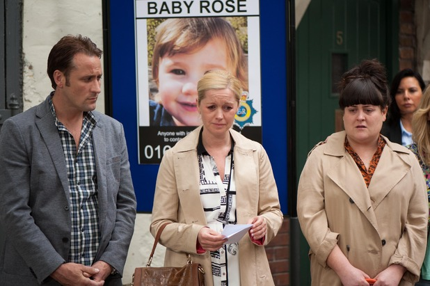 Hollyoaks, press conference for Rose, Mon 29 Jun