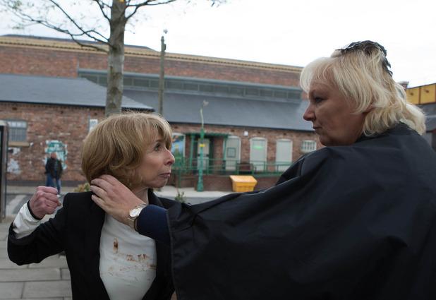 Corrie, Eileen versus Gail, Mon 29 Jun