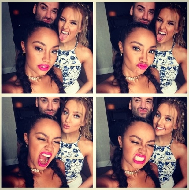 Little Mix's Leigh-Anne Pinnock instagrams picture of her pink lips, 23rd June 2015