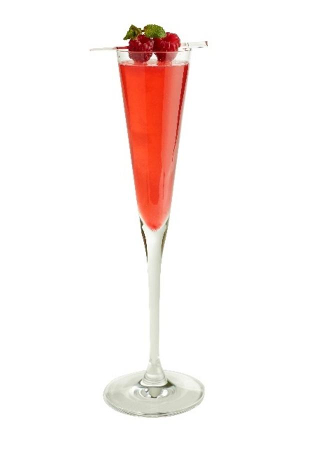raspberry fizz cocktails