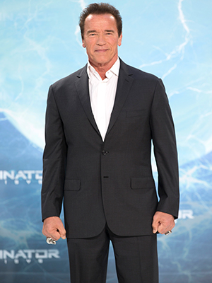 Arnold Schwarzenegger, European premiere of 'Terminator: Genisys' held at CineStar Sony Center