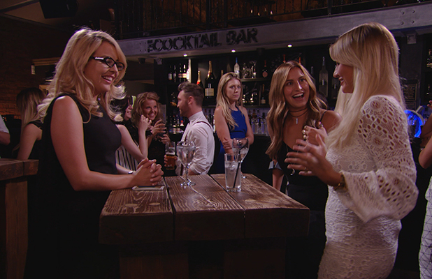 TOWIE episode to air 27 June: Billie goes braless on girls' night out