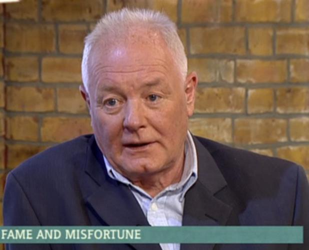 Bruce Jones on ITV's This Morning, 24 June 2015