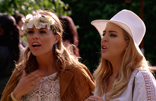 TOWIE episode to air 24 June: Jake talks to Chloe and Lydia at Georgia's birthday