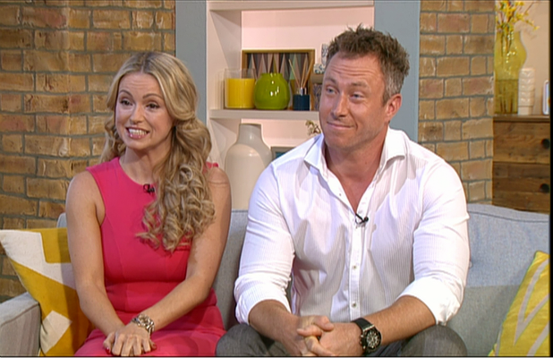 James Jordan and Ola Jordan appear on 'This Morning' to tlak about taking part in 'Seven Days With... James and Ola Jordan'. Broadcast on ITV1 HD