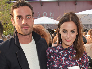 Lucy Watson & James Dunmore at Moet Event