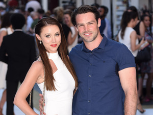 Una and Ben Foden attend the Magic Mike XXL premiere in London 30 June