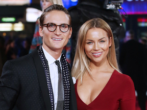 Oliver Proudlock and Emma Connolly at a special screening of 'Focus' at Vue West End 11/02/15