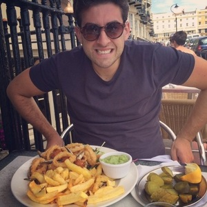 James Arg Argent in Brighton with Lydia Bright 1 July