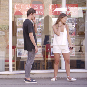 TOWIE's Chloe Lewis and Jake Hall argue while house hunting, 5 July 2015