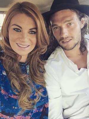 Billi Mucklow and Andy Carroll on date night, Instagram 30 June