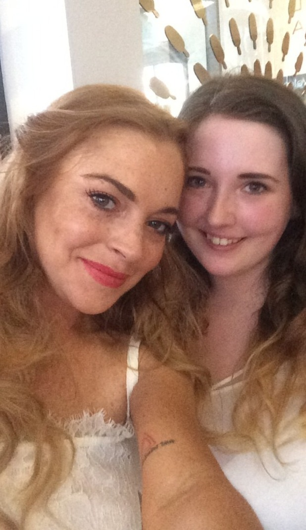 Lindsay Lohan at Magnum Pleasures Store Launch, Covent Garden 01/07/15