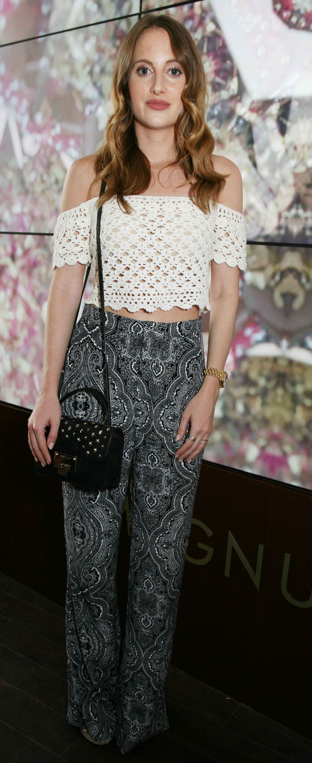 Made in Chelsea's Rosie Fortescue at Magnum London Launch 1st July 2015