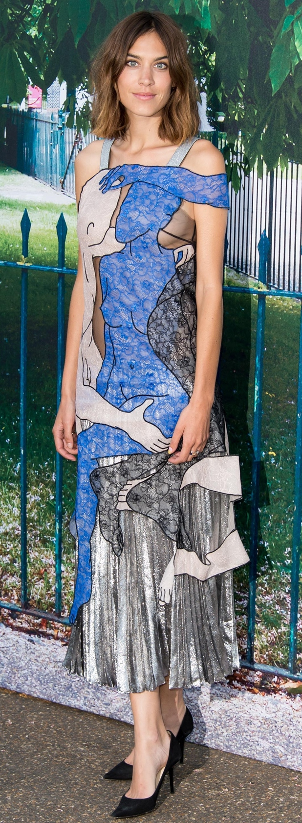Alexa Chung at Serpentine Gallery party in London 2nd July 2015