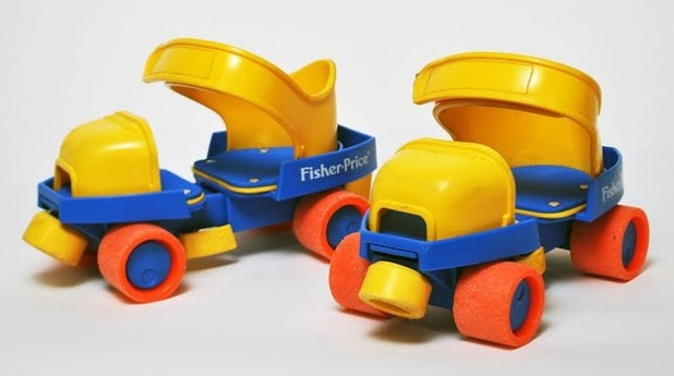 Fisherprice skates, Childhood toys from the 90s